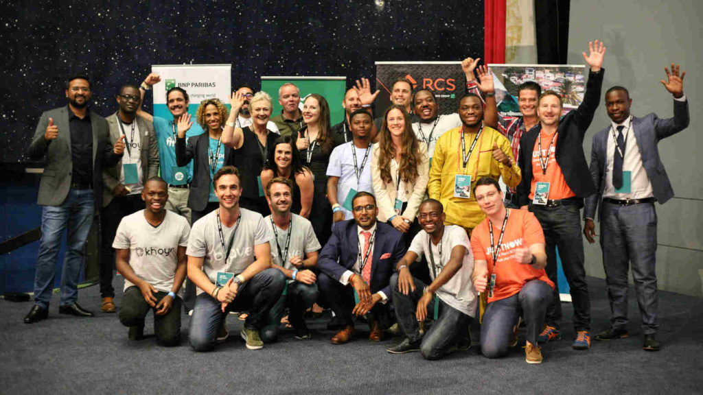 Featured image: Startupbootcamp Cape Town inaugural cohort (Supplied)