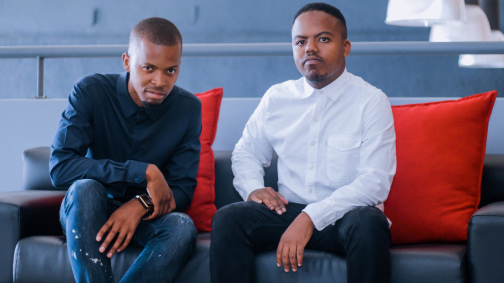 Featured image: Airbuy founders, from left to right head of business development Njabulo Makhathini and CEO Tshepang Kubo (Supplied)