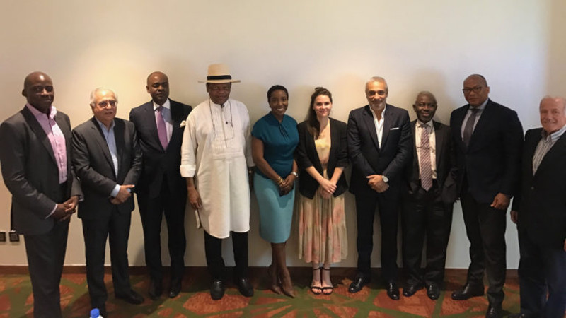 Featured image: Endeavor via Facebook: Nigeria managing director Eloho Omame (fifth from left) with the Endeavor Nigeria Founding Board