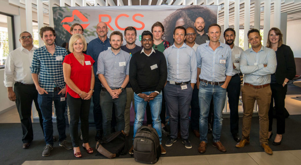 Featured image: Startupbootcamp Cape Town team, mentors and participants at Cape Town FasTrack event (Supplied)