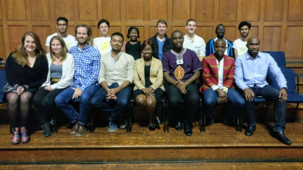 Featured image: Members of Injini's first cohort (Supplied)