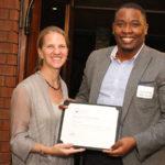 Featured image: Umtati Capital co-founder and CEO Munyutu Waigi receiving the 2015 Zambezi Prize (Supplied)