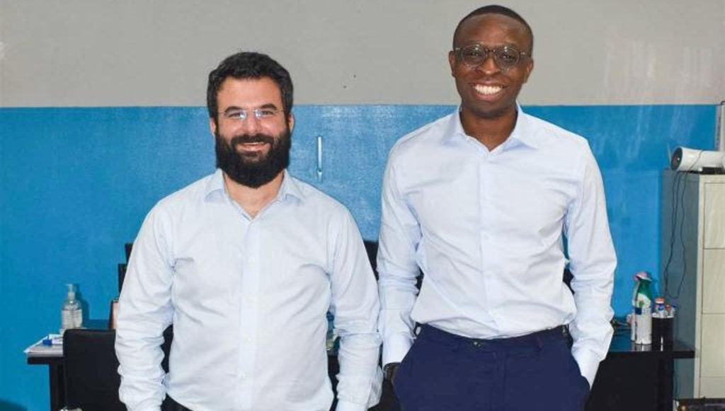 Featured image (left to right): Lydia founders Ercin Eksin,and Tunde Kehinde (Supplied)