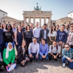 Featured image: The Westerwelle Young Founders Spring 2018 cohort (Photo by DieOffeneBlende / Supplied)