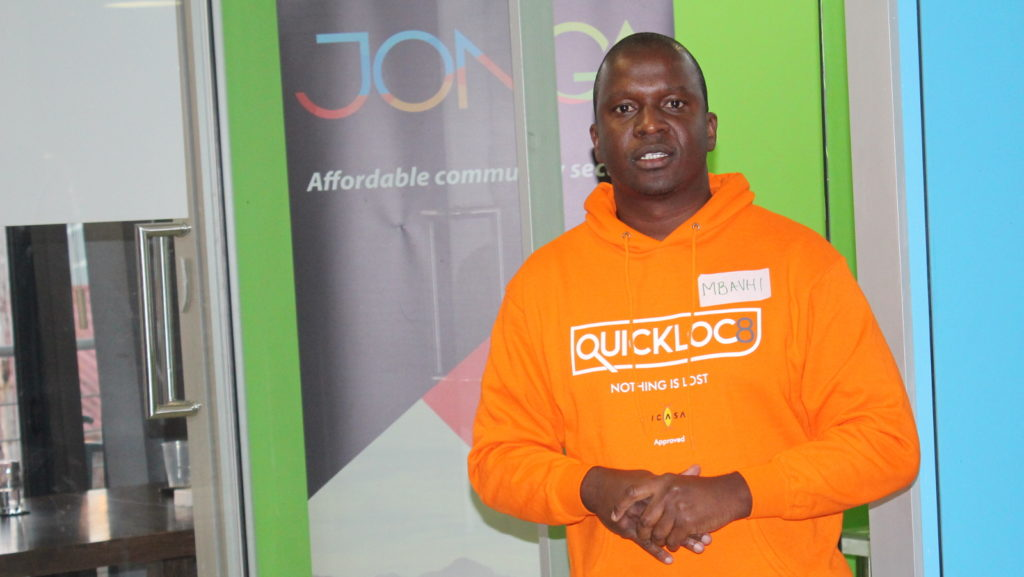 Quickloc8 CEO and founderMbavhalelo Mabogo