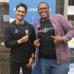 Featured image: Regenize founders Chad Robertson and Nkazimlo Miti at the DEMO Africa Innovation Tour Cape Town pitch event