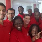 Featured image: Tulaa team celebrating the startup's one year anniversary last month. (Tulaa Technologies via Twitter)