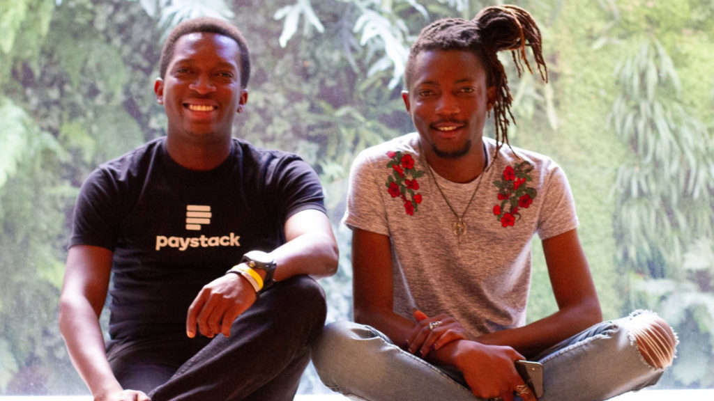 Featured image (left to right): Paystack founders Shola Akinlade and Ezra Olubi (Ezra 'God' Olubi via Twitter)