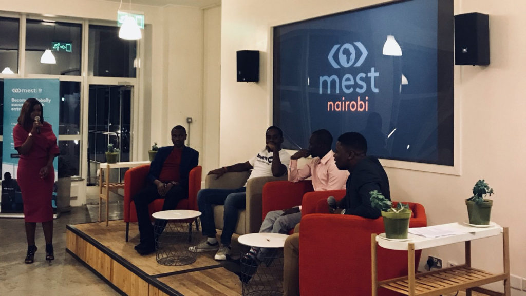 Featured image: MEST portfolio founders panel at the MEST Nairobi launch (MEST Africa via Twitter)