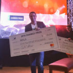 Featured image: Wala co-founder Samer Saab accepting the prize for Wala at the OpenMic Africa Summit in Nairobi on 31 August (Legatum Center @ MIT via Twitter)