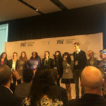 Featured image: The eight solver teams for the Frontlines of Health Challenge at the MIT Solve Global Challenge Finals in New York on Sunday (23 September) ( LifeBank via Twitter)