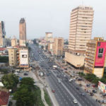 Featured image: Kinshasa central business district in 2017 (Andy Woodfield via Twitter)