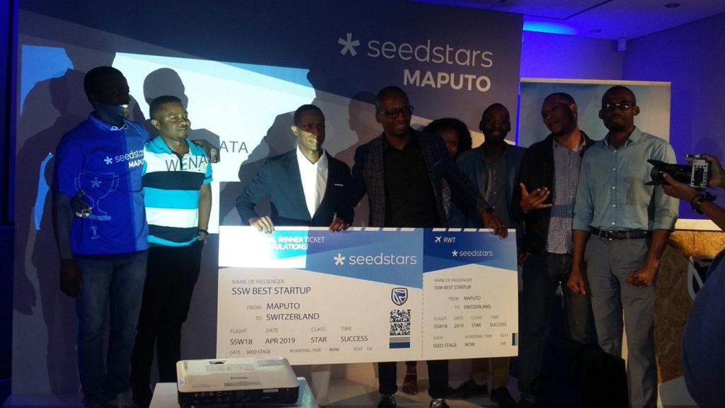 Featured image: Seedstars Maputo winners (Standard Bank MZ via Twitter)