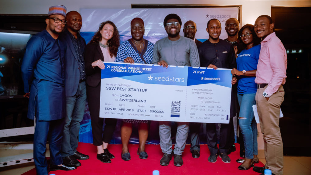 Featured image: 2018 Seedstars Lagos winners (Supplied)