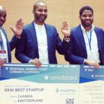 Featured image: Kubinga team at Seedstars Luanda (Global Shapers Luanda via Twitter)
