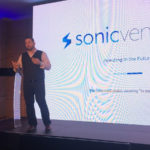 Featured image: Sonic Ventures CEO Joseph Gough conducting a presentation on Sonic Ventures model and proposed investment yesterday (18 October) at the Pepperclub Hotel and Spa in Cape Town