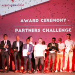 Featured image: AfricArena 2018 partner challenge winners (Supplied)
