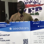Featured image: Money Farm CEO and founder Modou N'jie ( Raimund Moser via Twitter)