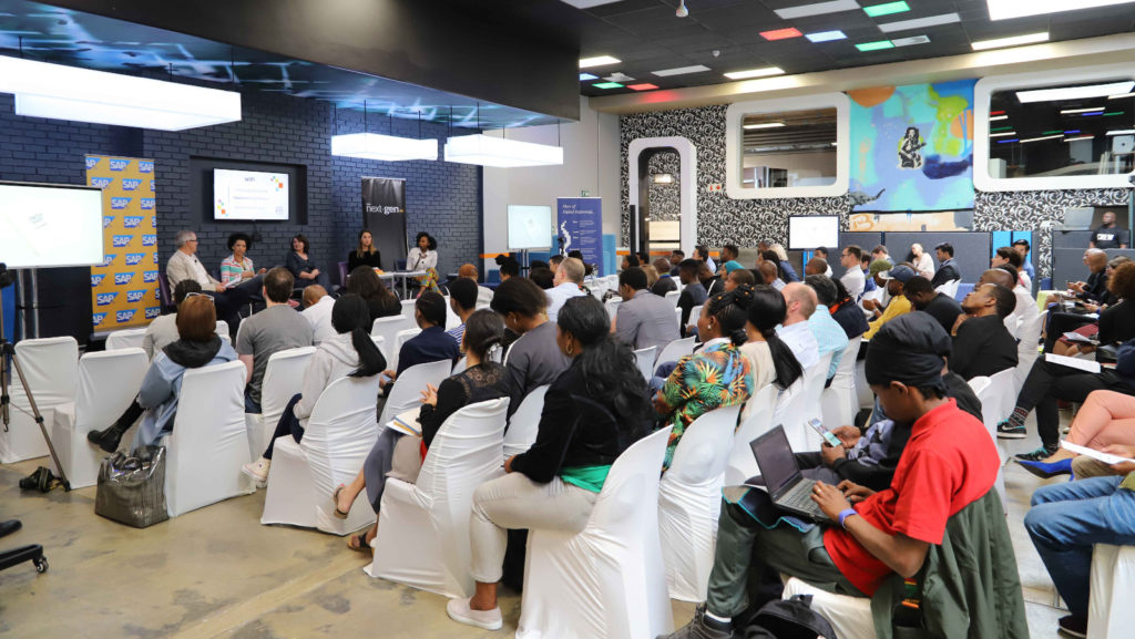 Featured image: Part of the crowd at yesterday's Startup Guide launch in Johannesburg (Supplied)