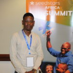 Featured image: Gatefunding CEO and founder Emmanuel David at the Seedstars Africa Summit conference (Daniel Mpala)
