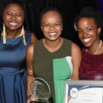Featured image: Afrobodies CEO and founder Benedicta Mahlangu-Durcan (centre) and Get2Natural co-founder Phumelele Khumalo ( right) (Supplied)