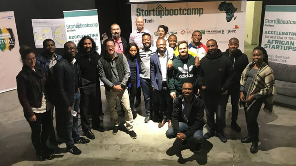 Featured image: Startupbootcamp AfriTech 2018 cohort (Startupbootcamp AfriTech via Facebook)
