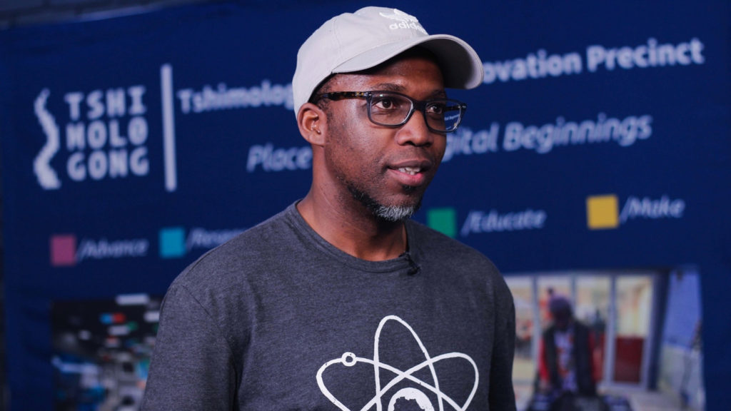 Featured image: Tshimologong Digtial Innovation Precinct head of marketing Kendal Makgamathe (Supplied)