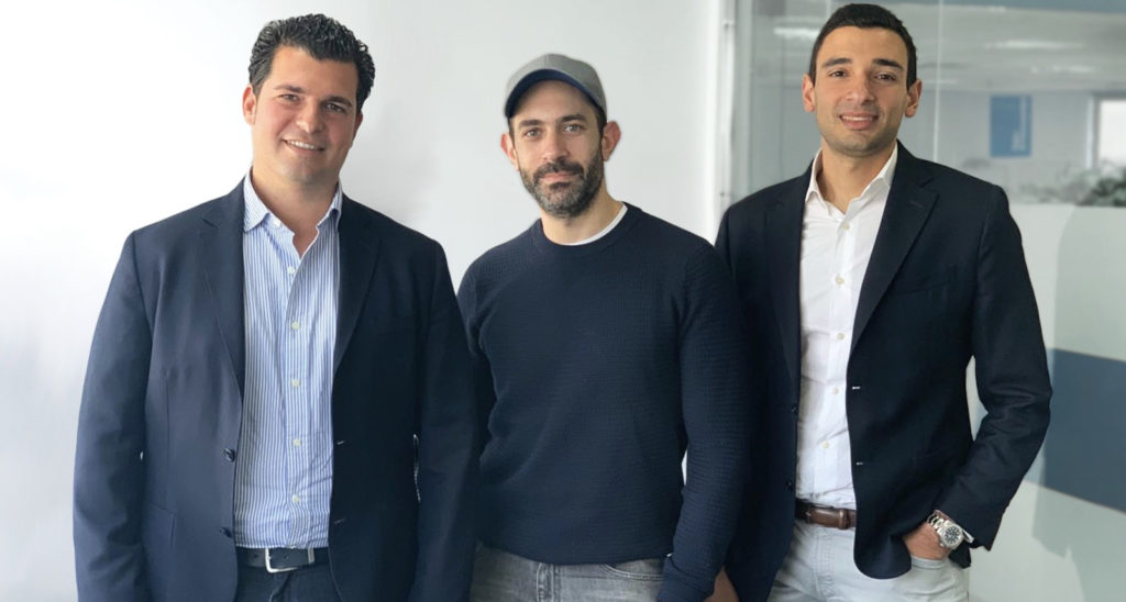 Featured image, left to right: Dsquares founders CEO Marwan Kenawy, Momtaz Moussa, and Ayman Essawy (Supplied)