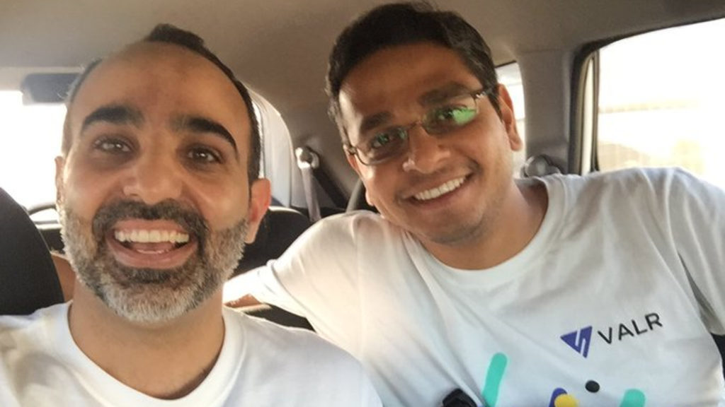 Featured image, left to right: VALR co-founders CEO Farzam Ehsani and CPO Badi Sudhakaran (VALR via Twitter)