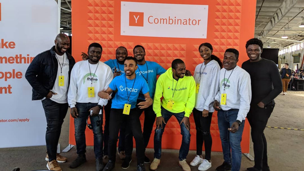 Featured image: Part of the African contingent of startups that pitched at the Y Combinator Winter 2019 Demo Day earlier this week ( John Oke via Twitter)