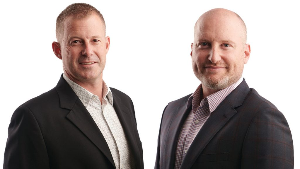 Featured image, left to right: Centbee CEOs Angus Brown and Lorien Gamaroff (Supplied)