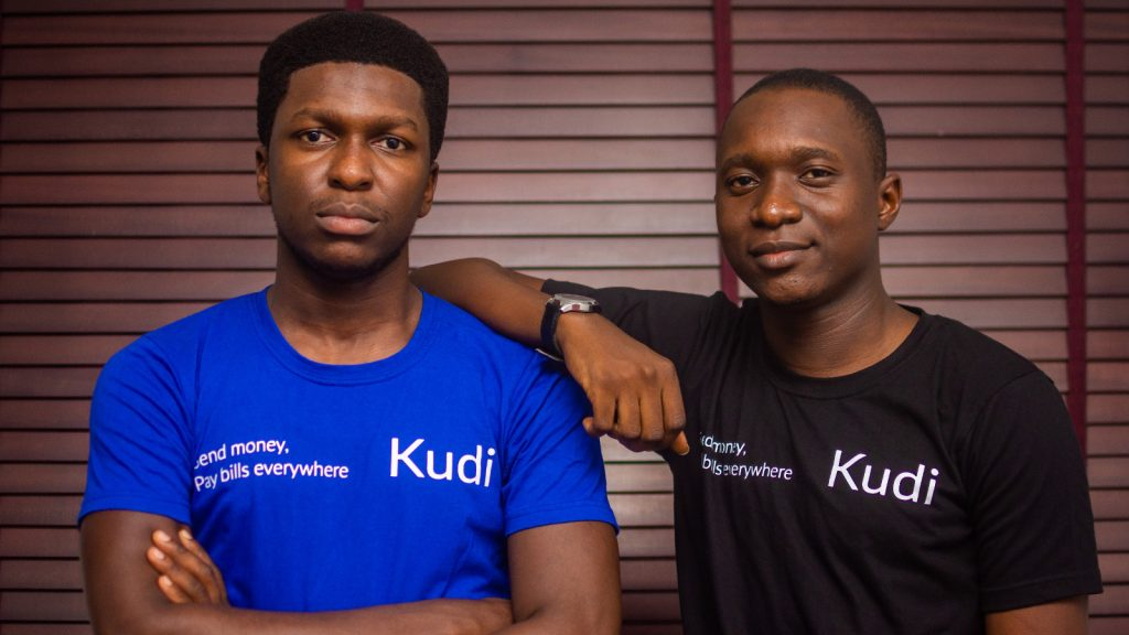 Featured image, left to right: Kudi founders CTO Pelumi Aboluwarin and CEO Adeyinka Adewale (Supplied)