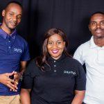 Featured image, left to right: Payitup founding team president Ronald Tapfuma Rwodzi, CEO Aretha Gonyora, and COO Kenneth Tafadzwa Matikizha (Supplied)