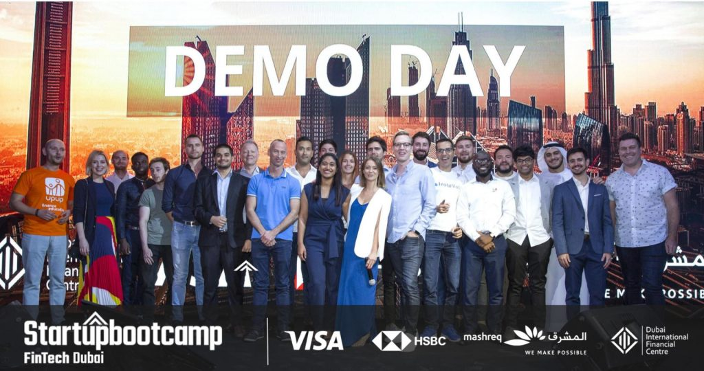 Featured image: The inaugural cohort of the Startupbootcamp FinTech Dubai Accelerator (Supplied)