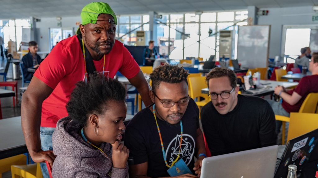 Featured image: Some of the participants at last month's ETHCape Town hackathon (Supplied)
