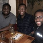 Featured image, left to right: Chipper Cash CEO and co-founder Ham Serunjogi, Paystack CEO and co-founder Shola Akinlade, and Chipper Cash president and co-founder Majid Moujaled ( Ham Serunjogi via Twitter)