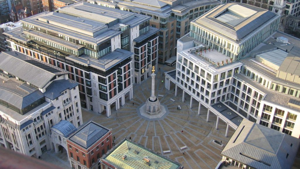 Featured image: Paternostre Square , home of the London Stock Exchange (Creative Commons CC0 License)