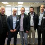 Featured image (left to right): DPO Group chairmanOffer Gat, DPO Group CEO Eran Feinstein, PayFast MD and co-founder Jonathan Smit, Axis Partners MDNicholas Smalle and DPO PayGate MD Peter Harvey