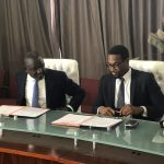Featured image: Representative of the Senegalese government and GreenTec Capital at the signing of the partnership agreement (Supplied)