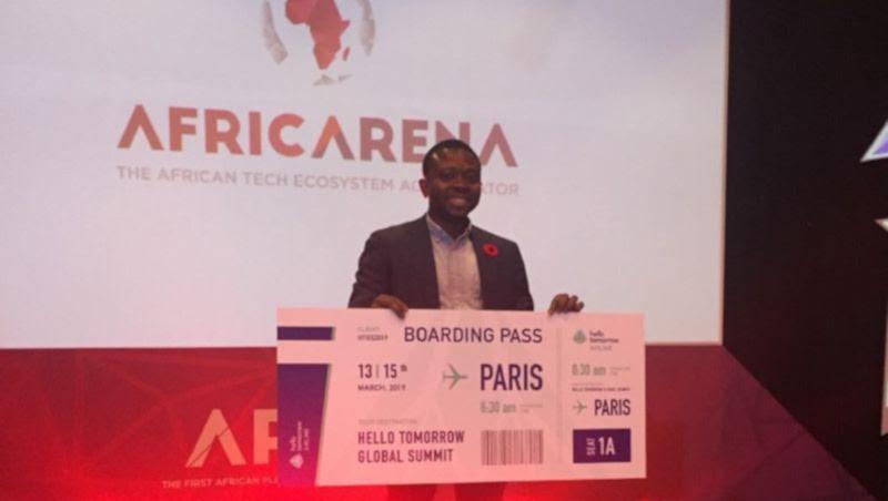Featured image:RxAll CEO Adebayo Alonge (AfricArena)
