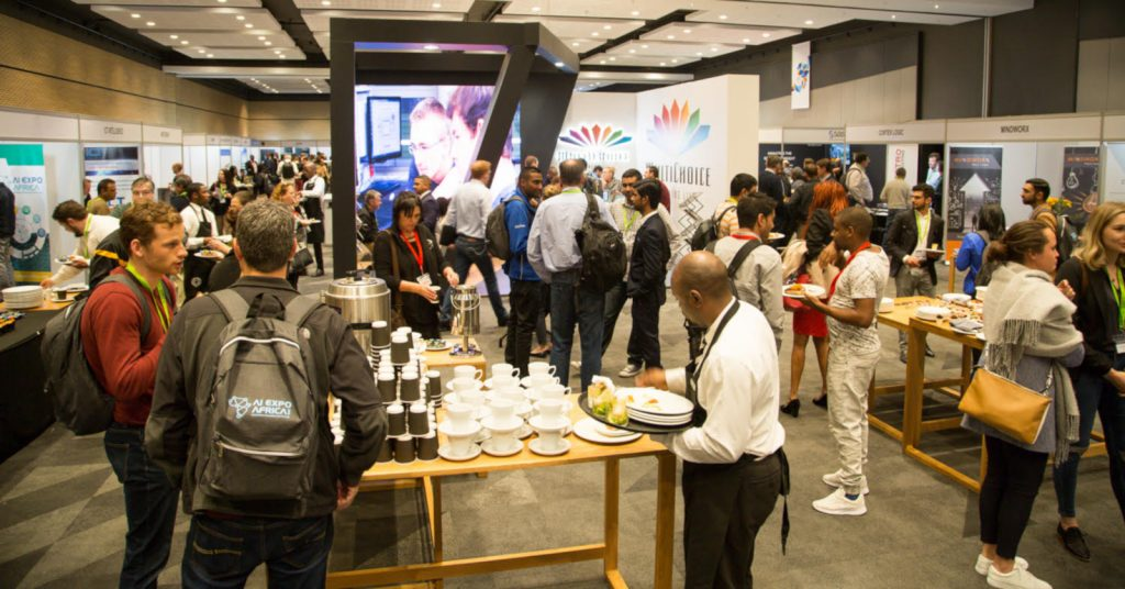Featured image: Delegates at the inaugural AI Expo Africa (Supplied)