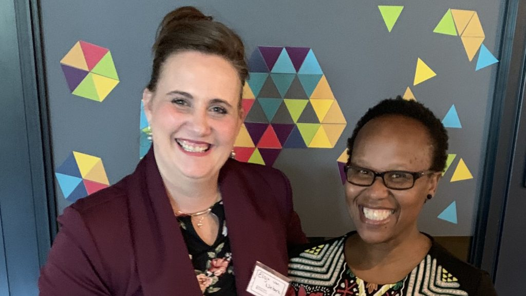 Feature image, from left to right: Coding Mamas founders Elisja van Niekerk and Nelisa Ngqulana (Supplied)