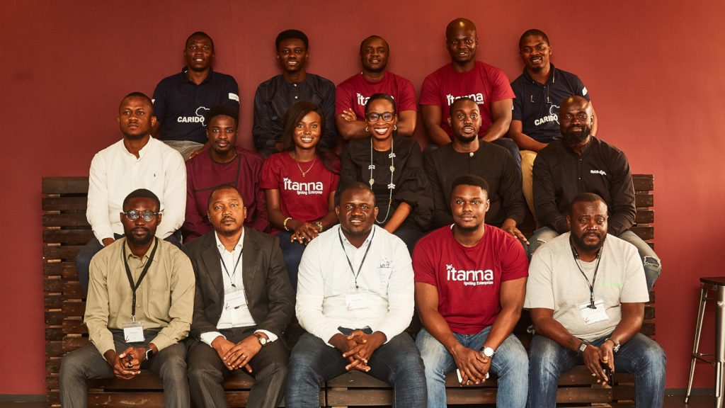 Featured image: Itanna's second cohort (Supplied)