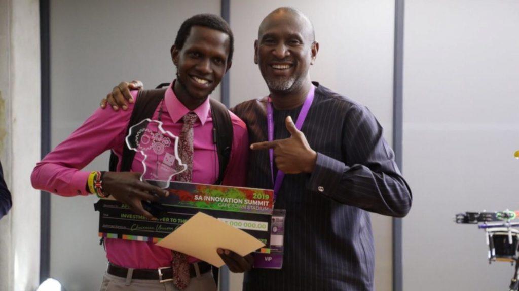 Featured image, left to right: Asilimia CEO Tekwane Mwendwa withSynergy Capital managing partnerAkintoye Akindele (SA Innovation Summit)