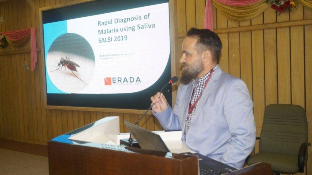 Featured image: Erada co-founderDr Benji Pretorius (Erada Technology Alliance via Facebook)