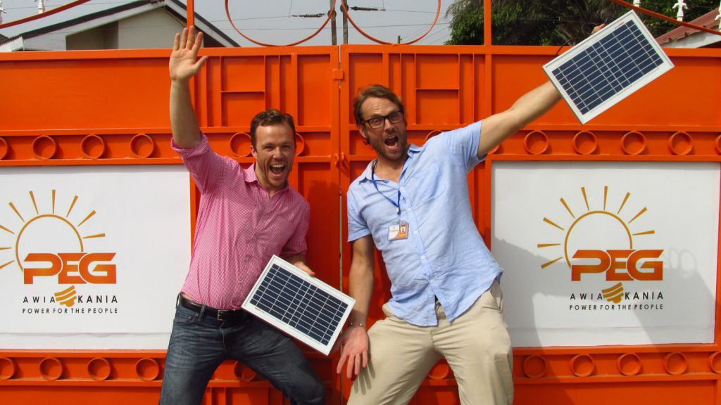 Featured image, left to right: PEG Africa founders CEOHugh Whalan and COO Nate Heller (Supplied)