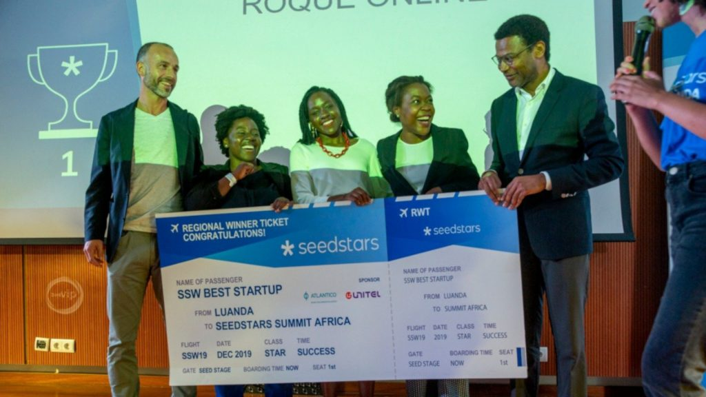 Featured image: Roque Online team at Seedstars Luanda (Seedstars)