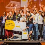 Featured image: 2019 MTN App Awards winners (Supplied)