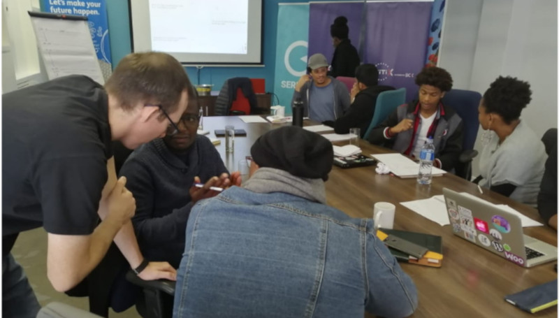 Featured image: Members of Injini's Cohort 3 during their first workshop (Injini - Africa's EdTech Incubator via Facebook)