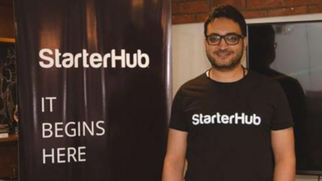 Featured image: StarterHub founder Amr Hussein (Facebook)